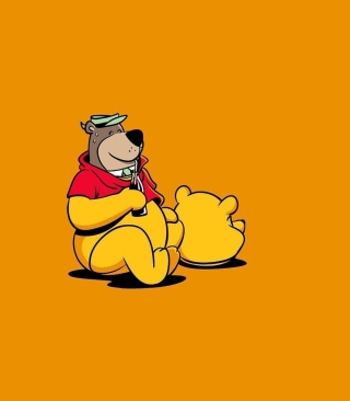 I Am Winnie The Pooh - Obrázkek zdarma pro Nokia Asha 308