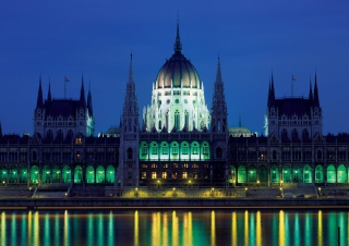 Parliament Building Budapest Hungary Wallpaper for Android, iPhone and iPad