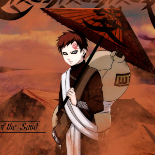 Gaara, Naruto Manga - Obrázkek zdarma pro 1024x1024