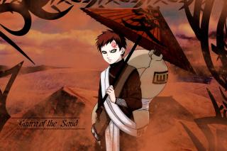 Gaara, Naruto Manga - Obrázkek zdarma pro Samsung Galaxy S3