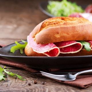 Salami Sandwich - Obrázkek zdarma pro 2048x2048
