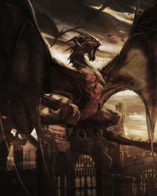 Dragon Attack - Obrázkek zdarma pro Nokia X2