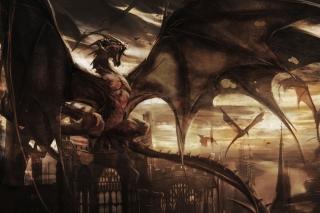 Dragon Attack - Obrázkek zdarma pro Fullscreen Desktop 1280x960