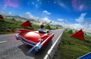 Road Trip - Obrázkek zdarma pro HTC One