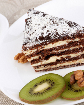 Coffee, Cake and Kiwi - Obrázkek zdarma pro 768x1280