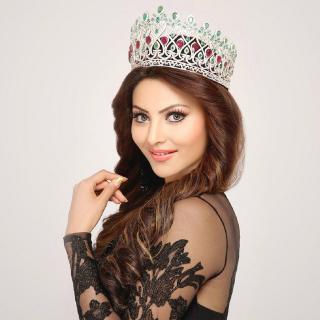Urvashi Rautela Miss World - Obrázkek zdarma pro 320x320