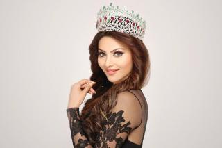 Urvashi Rautela Miss World - Obrázkek zdarma pro Nokia Asha 205