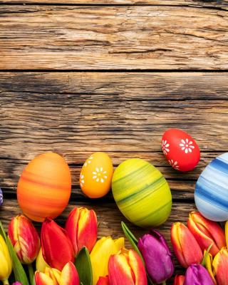 Easter bright eggs - Obrázkek zdarma pro Nokia Asha 501