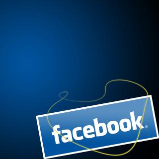 Facebook Wallpaper - Obrázkek zdarma pro iPad