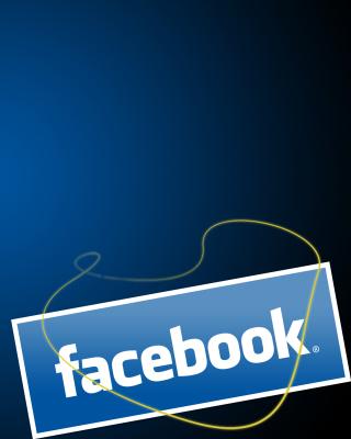Facebook Wallpaper - Obrázkek zdarma pro Nokia X7