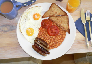 English Breakfast Wallpaper for Android, iPhone and iPad