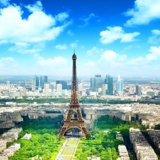 Eiffel Tower - Obrázkek zdarma pro 1024x1024