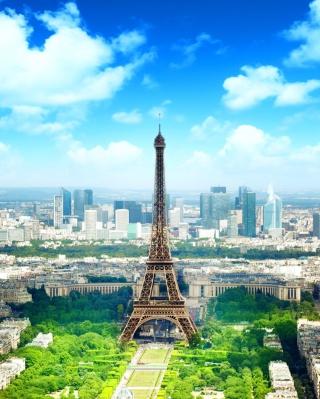 Eiffel Tower - Obrázkek zdarma pro Nokia 300 Asha