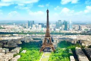 Eiffel Tower Background for Android, iPhone and iPad