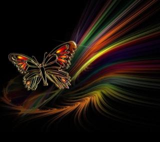 Abstract Butterfly - Obrázkek zdarma pro 128x128