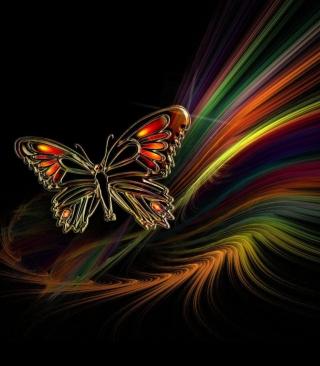 Abstract Butterfly - Obrázkek zdarma pro Nokia Asha 502