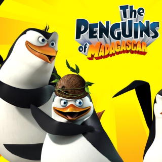 The Penguins of Madagascar - Obrázkek zdarma pro iPad Air