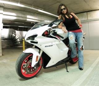 Ducati Bike Model - Obrázkek zdarma pro 1024x1024