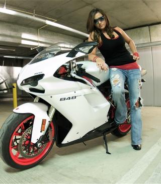 Ducati Bike Model - Obrázkek zdarma pro Nokia Asha 310