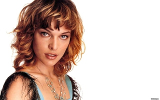 Free Milla Jovovich Picture for Android, iPhone and iPad
