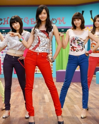 Girls Generation - Obrázkek zdarma pro Nokia X2-02