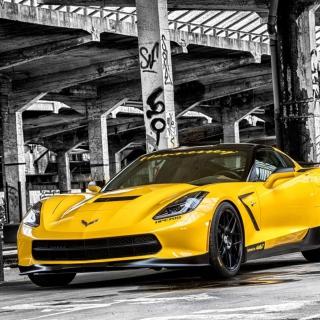 Chevrolet Corvette Stingray - Obrázkek zdarma pro iPad Air