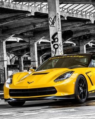 Chevrolet Corvette Stingray - Obrázkek zdarma pro 320x480