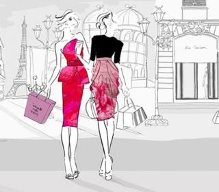 City Shopping - Obrázkek zdarma pro 2048x2048