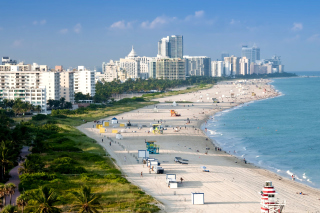 Miami Beach - Obrázkek zdarma pro Samsung Galaxy Tab 7.7 LTE
