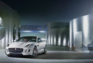 Jaguar F Type R Coupe 2014 Picture for Android, iPhone and iPad