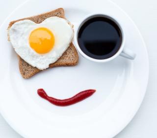 Happy Breakfast - Obrázkek zdarma pro 1024x1024