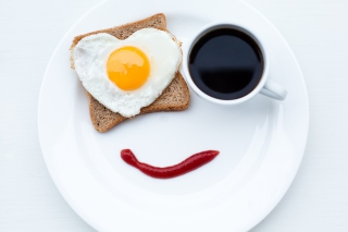 Happy Breakfast - Obrázkek zdarma pro Samsung Galaxy Nexus