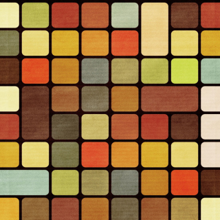 Rubiks Cube Squares Retro - Obrázkek zdarma pro iPad 3