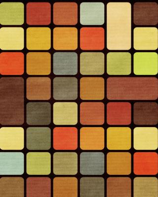 Rubiks Cube Squares Retro - Obrázkek zdarma pro iPhone 6