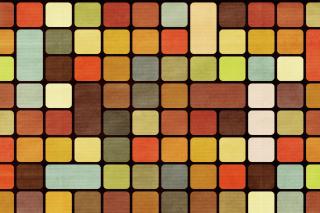Rubiks Cube Squares Retro - Obrázkek zdarma pro 220x176