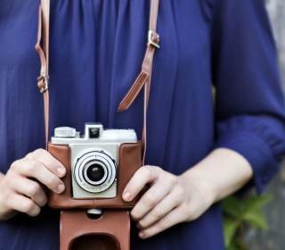 Old-Fashioned Photo Camera - Obrázkek zdarma pro iPad 3