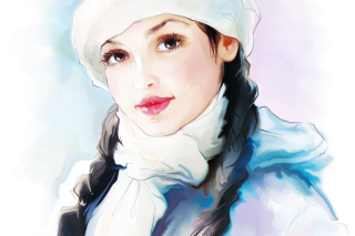 Water-Colour Portrait - Obrázkek zdarma pro Android 1280x960