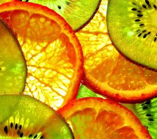 Fruit Slices - Obrázkek zdarma pro iPad 3
