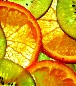 Fruit Slices - Obrázkek zdarma pro Nokia C3-01 Gold Edition
