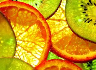Fruit Slices - Obrázkek zdarma pro Nokia X2-01