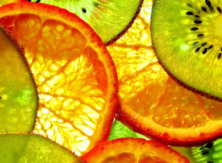 Fruit Slices - Obrázkek zdarma pro 1200x1024