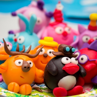 Plasticine Figurines - Obrázkek zdarma pro 1024x1024