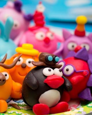 Plasticine Figurines - Obrázkek zdarma pro Nokia Asha 300