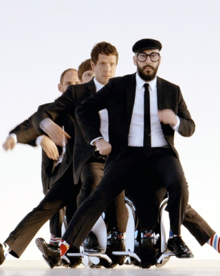OK Go American Power Pop Band - Obrázkek zdarma pro Nokia Asha 300