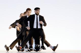 OK Go American Power Pop Band - Obrázkek zdarma pro Nokia Asha 200