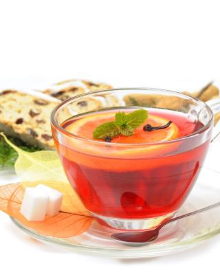 Winter Tea - Obrázkek zdarma pro Nokia Asha 311