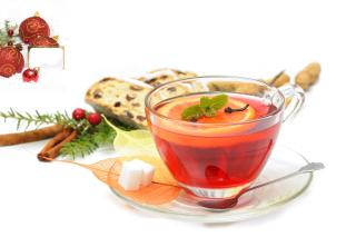 Winter Tea - Obrázkek zdarma pro 1366x768