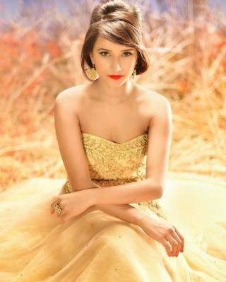 Golden Lady - Obrázkek zdarma pro Nokia X2-02