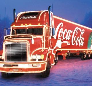 Coca Cola Christmas Truck - Obrázkek zdarma pro iPad 2