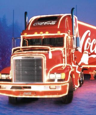 Coca Cola Christmas Truck - Obrázkek zdarma pro iPhone 5S